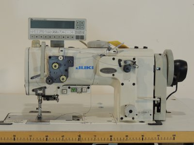 used JUKI LU-2210N-7 - Sewing