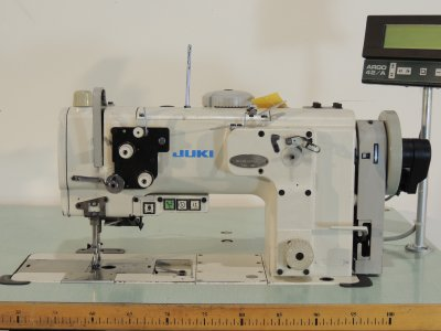 used JUKI LU-2210N-7 - Sewing