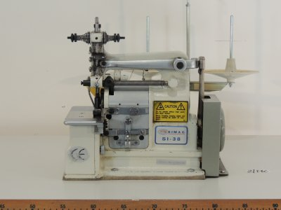 used SIMAC SI-38 - Sewing