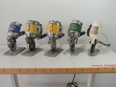 used Taglierine rotative FIORE - SECAT -AURORA - KM - Cutting Fusing Ironing