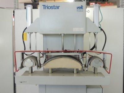 used Kannegiesser Veit Brisay BRI-7500 / 101 - Cutting Fusing Ironing