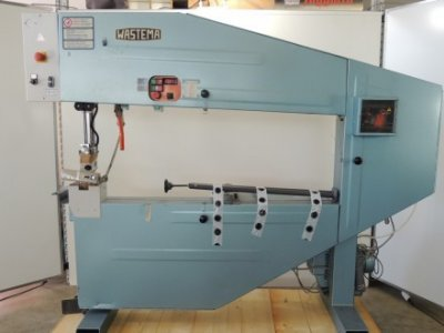 used Sega a nastro - WASTEMA - Cutting Fusing Ironing
