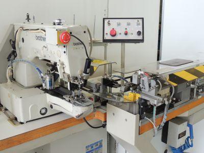 BROTHER LK3-B433EX usata Macchine per cucire