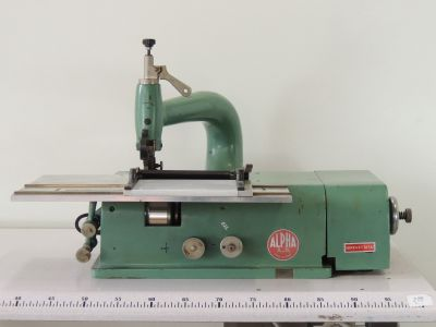 used SCARNITRICE-ALPHA - Cutting Fusing Ironing