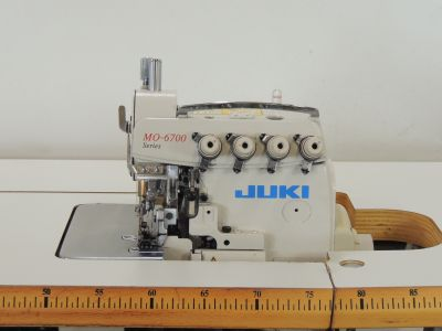 used JUKI MO -6716-S - Sewing