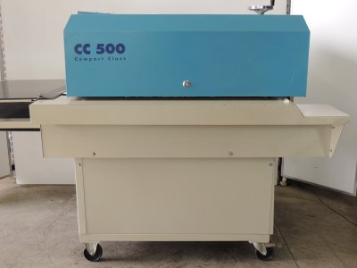 used KANNEGIESSER-CC-500 - Cutting Fusing Ironing