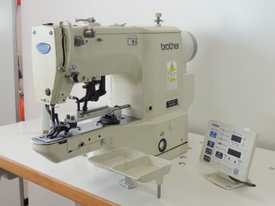 used BROTHER BE-438-D - Sewing